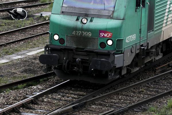Une locomotive de fret en Île-de-France (illustration).