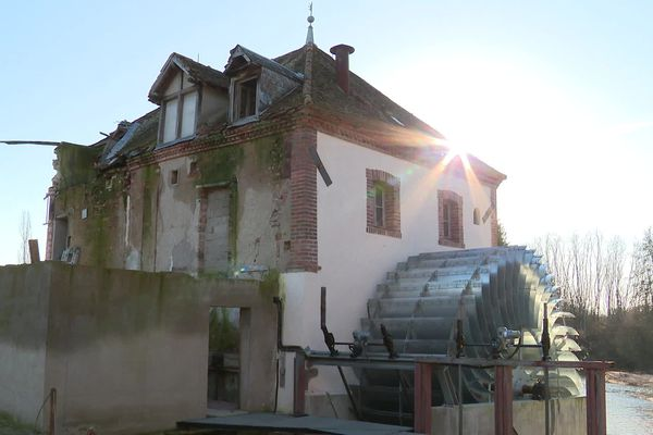 Propriété de la famille Dauvergne depuis cinq générations, le moulin Baudran va désormais produire de l'électricité.