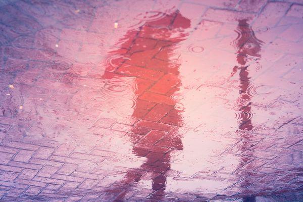 Reflets de pluie...