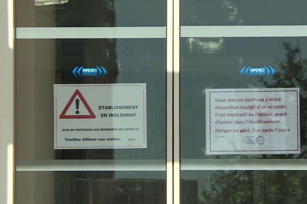 Un foyer de contamination avait été mis au jour dans un Ehpad de la Dordogne