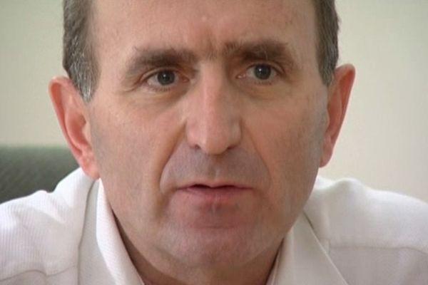 François Ponthieu, candidat à la présidence de la FFF.