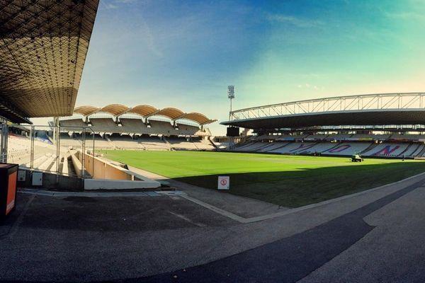 Le stade de Gerland (octobre 2014)