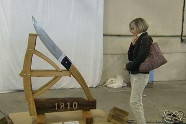 """Pour son bicentenaire, l'Arbalète s'est offert un géant : un """"Le Thiers"""" à hauteur d'homme"""