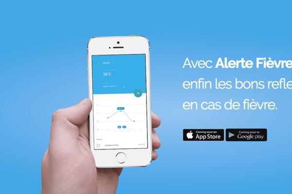 Alerte Fièvre : l'application mobile qui existe depuis 2011 vient d'être modernisée par la jeune pousse lyonnaise Medeo