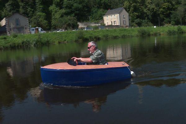Notre journaliste Pierre-Erik Cally a testé pour vous le Dandy sur la Mayenne
