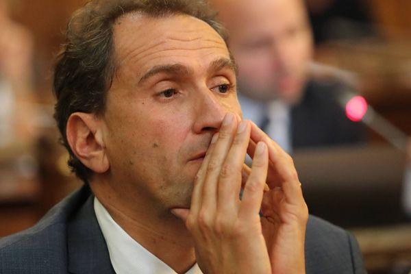 Vincent Feltesse ne sera pas candidat aux municipales de 2020 à Bordeaux (Photo du 10 09 2017 au conseil municipal)  .