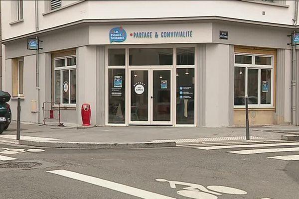L'Escale Solidaire du 3, dans le 3e arrondissement de Lyon.