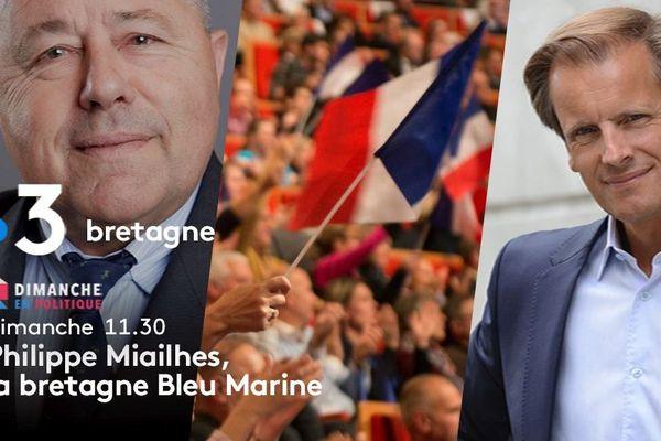 Philippe Miailhes, la Bretagne Bleu Marine