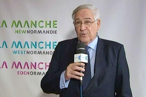 Jean-François Le Grand, président du Conseil général de la Manche