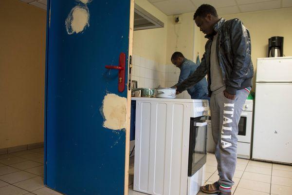 Un centre d'accueil pour migrants à la Roche-sur-Yon.