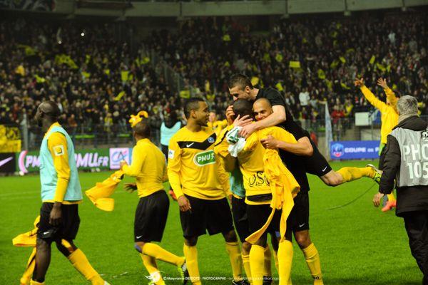 US Quevilly s'offre une finale de Coupe de France en 2012