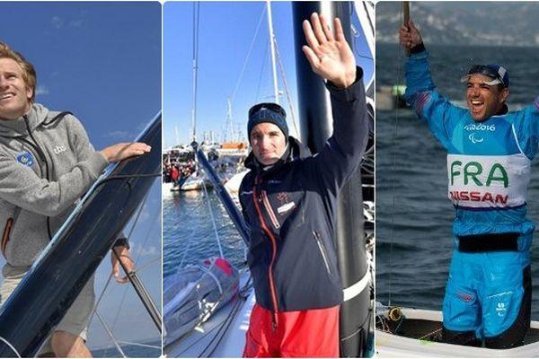 Gabart, Beyou, Seguin, qui sera élu marin de l'année 2016 ?