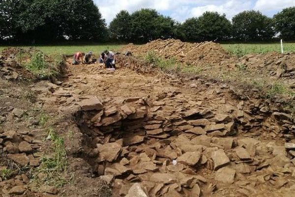 Les fouilles continuent sur la butte de Goassec'h (29)