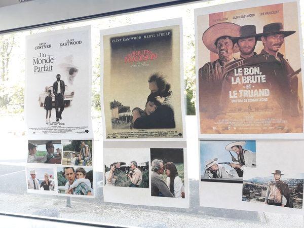 Clint Eastwood en vedette à la médiathèque d'Oradour-sur-Vayre