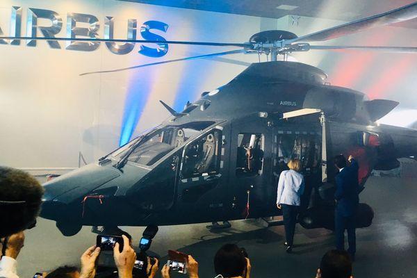 """L'héicoptère """"Guépard"""" équipera les armées de Terre, Air et Mer à partir de 2026."""