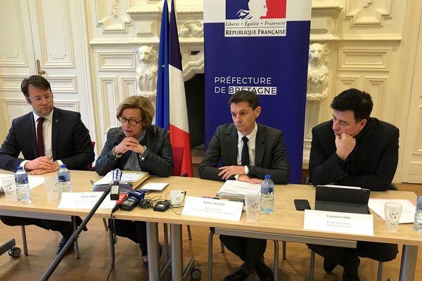 Les services de l'Etat et la région ont tenu une nouvelle conférence de presse ce 13 mars