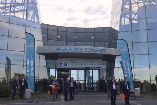 Le congrès de l'Assemblée des Départements de France a lieu jusqu'au 7 octobre 2016 au Palais des Congrès du Futuroscope.