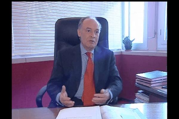 Joël Martinez, ancien directeur du CHU de Caen