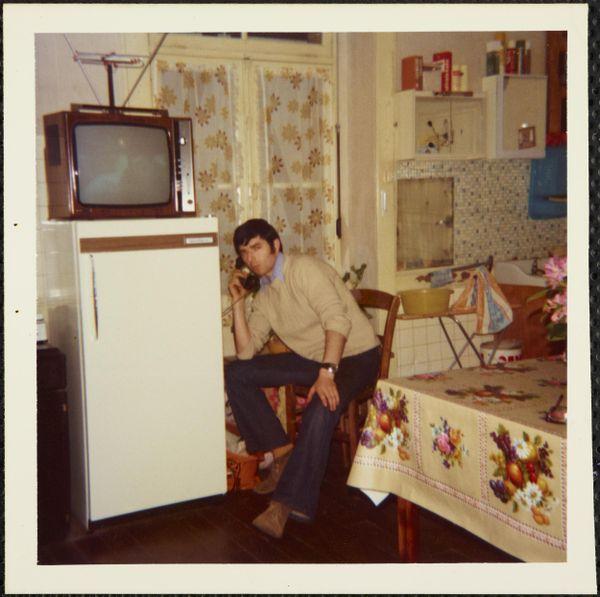 """""""Au téléphone"""", Rennes juin 1974"""
