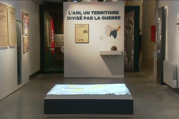Le musée a pour objectif de faire vivre la 2eme guerre mondiale telle qu'elle a été vécue dans l'Ain