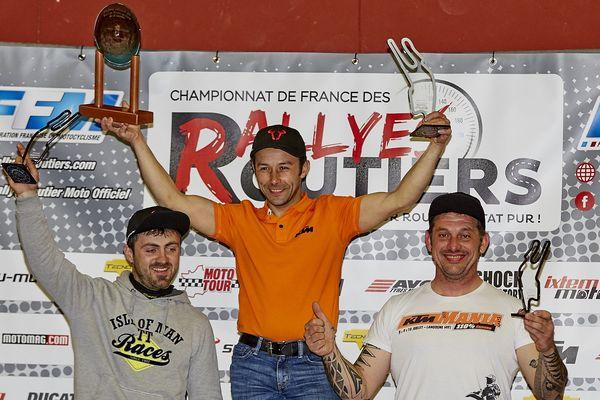 Podium Rallye de la Sarthe 2017