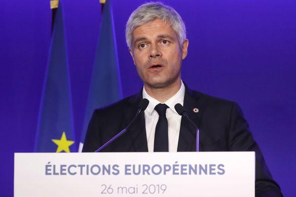 Alors que la liste des Républicains recueillerait 8,3% des voix selon les estimations, Laurent Wauquiez, président de la Région Auvergne-Rhône-Alpes et président des Républicains s'est exprimé dimanche 26 mai.