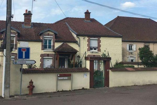 La maison de la victime, Jean-Marie Reiter, à Longchamp-sur-Aujon