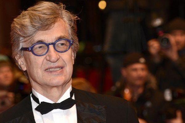 Wim Wenders lors de la clotûre du 65ème festival du film de Berlin cette année