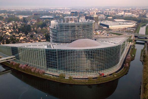 Parlement européen de Strasbourg, en mars 2019