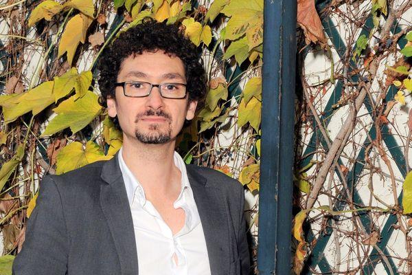"""David Foenkinos, 39 ans, est un des écrivains les plus populaires de la jeune génération, rendu célèbre pour son roman """"La délicatesse"""" (Gallimard, 2009)"""