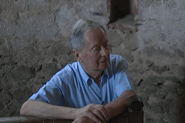 Pierre Lajoix, propriétaire du château de Villemonteix