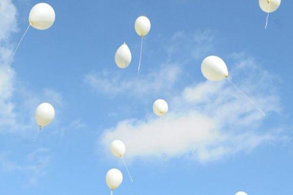ILLUSTRATION- Lâcher de ballons à l'occasion de la 7è journée mondiale pour le droit de mourir dans la dignité