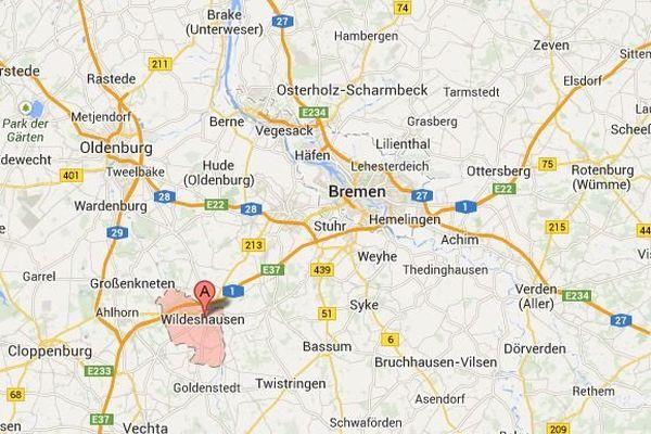 Wildeshausen, au sud-ouest de Bremen, en Allemagne. Les enquêteurs diligentés par le procureur Brendel ont mené une perquisition le 27 janvier 2014 chez un ancien nazi impliqué dans le massacre d'Oradour