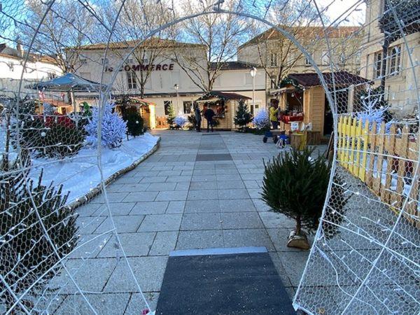 Au coeur du marché de Noël, à Saint-Dizier
