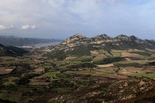 Le Grand Site de Patrimonio-Conca d'Oro-Saint-Florent, sur la côte Ouest de la Haute-Corse:
