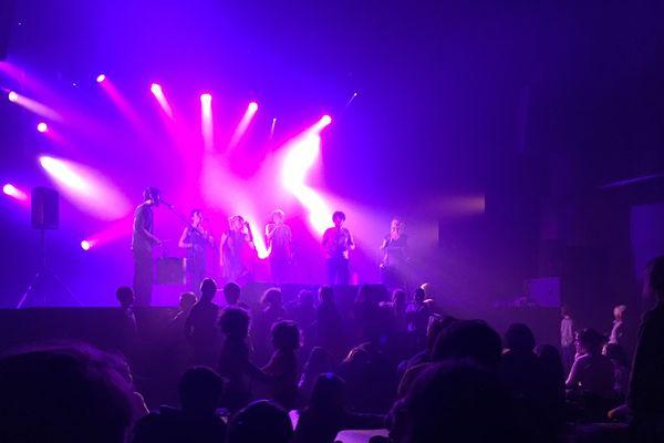 Le groupe San Salvador était en résidence aux Lendemains qui chantent à Tulle, pour préparer le concert du Printemps de Bourges.