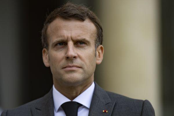 Emmanuel Macron est venu dans l'Aube à Pont-Sainte-Marie, le 19 mai 2021. Il a notamment rencontré des élus du département.