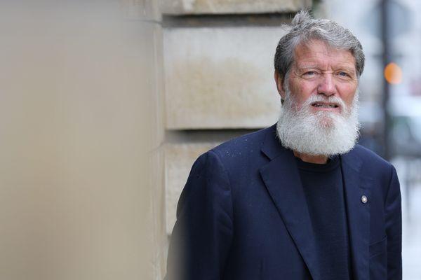 Le père Pedro Opeka lors de sa venue à Paris en 2013, il avait été nommé pour le Prix Nobel de la Paix