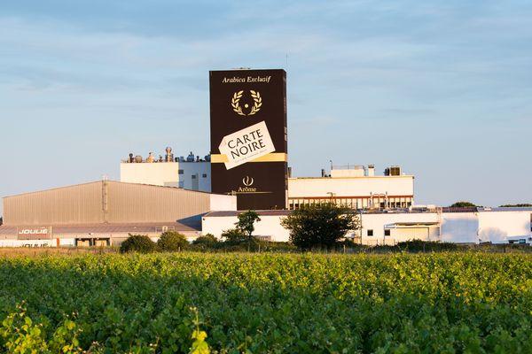 L'usine Carte Noire, propriété du groupe familial italien Lavazza depuis 2016.