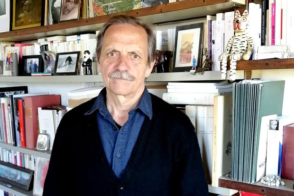 Jean-Marie Laclavetine au Grand-Pressigny