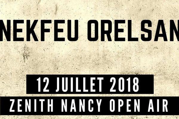 Les artistes Nekfeu et Orelsan donneront un concert unique au Zénith de Nancy.