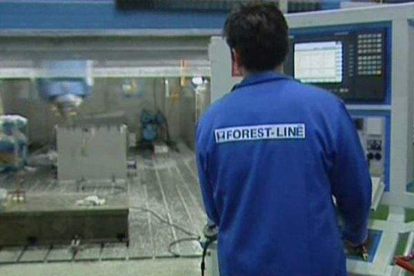 Forest-Liné fabrique des machine-outils pour l'aéronautique.