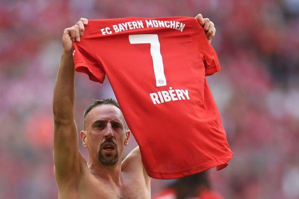 Franck Ribéry a longuement salué les supporters de l'Allianz Arena à la fin du match