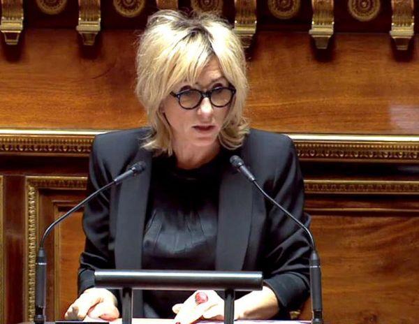 Nicole Bonnefoy, sénatrice PS de la Charente