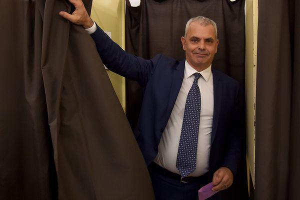 Christophe Bouchet, maire de Tours.