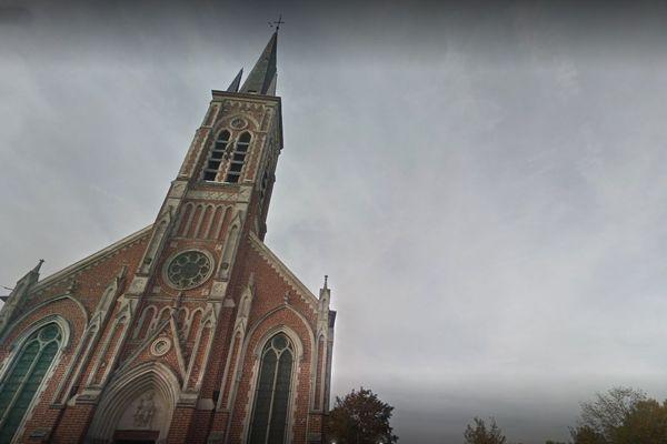 L'Eglise Saint-Eubert à Vendeville