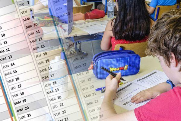 Calendrier scolaire 2021/2022 - La rentrée des classes aura lieu le jeudi 2 septembre, les vacances d'été 2022 débuteront le 7 juillet