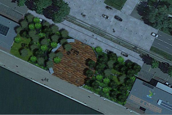 En lieu et place du Panorma XXL, les Rouennais veulent de la verdure, un lieu propice à la détente.