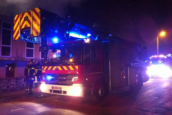 Incendie mairie annexe Bouguenais