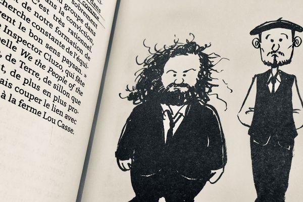 The Inspector Cluzo : Mathieu Jourdain et Laurent Lacrouts dessiné par Marc Large